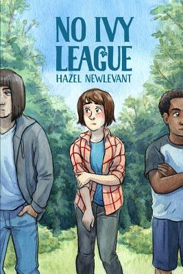 No Ivy League, Hazel Newlevant, Forest, Girl standing between two guys, graphic novel, summer
