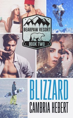 Blizzard, Snowboarding, Halfnaked guy, Girl and boy hugging, Girl and boy embracing, Bear, New Adult, Romance