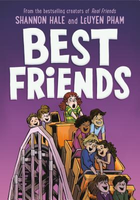 Best Friends, Rollercoaster, Children's Books, Graphic Novel, Friendship, Purple, LeUyen Pham