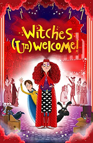 Witches (Un)welcome, Children's books, magic, witches, red cover, red hair, kaye umansky