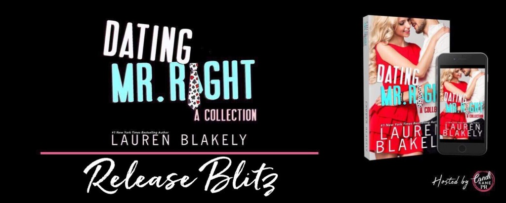 Dating Mr. Right, Lauren Blakely, Teaser, Pink, Hugging, Red Dress