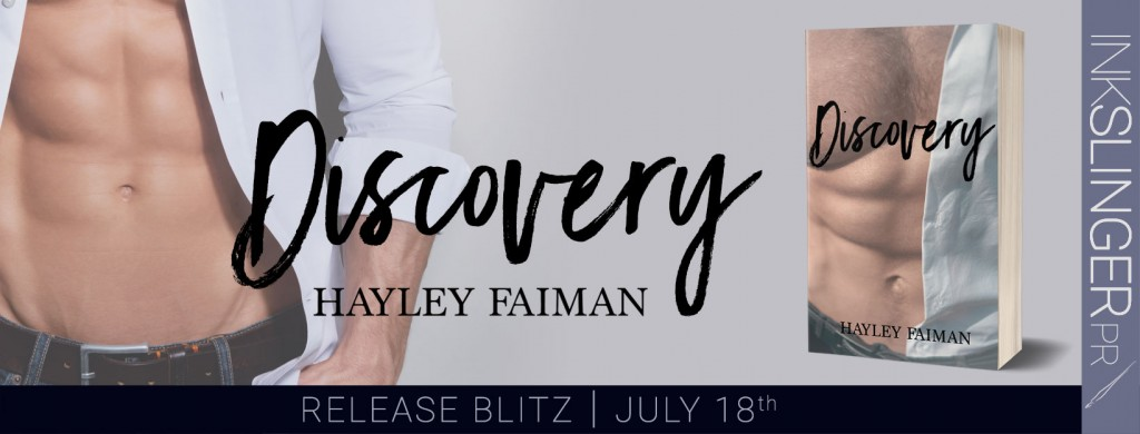 Half-naked man, Gray, Banner, Discovery, Hayley Faiman