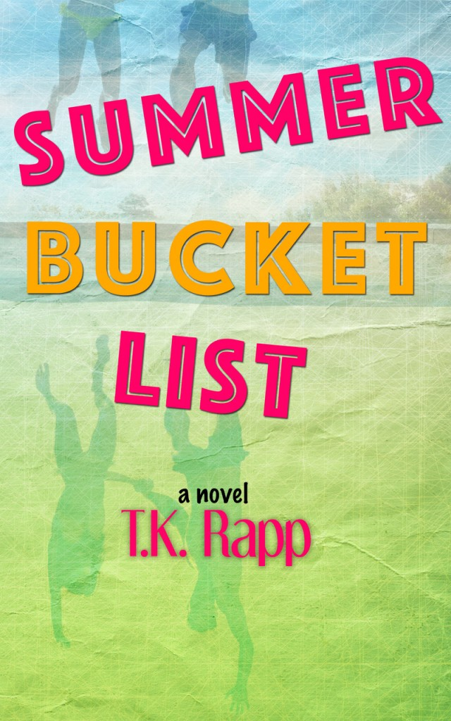 Summer Bucket List, Young Adult, Colourful, Silhouettes, T.K. Rapp