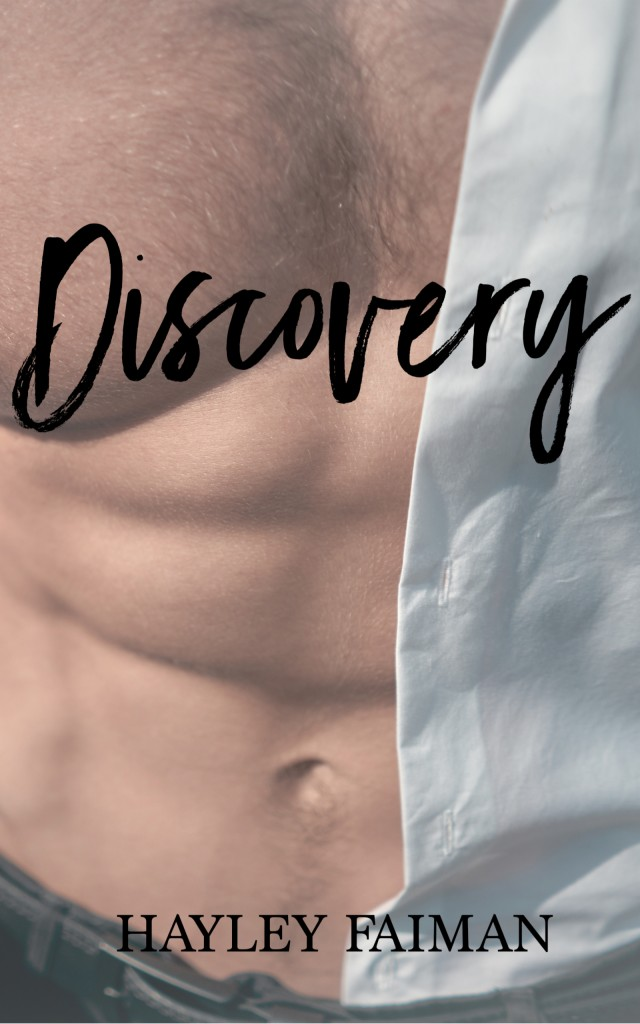 Half-naked man, Gray, Cover, Discovery, Hayley Faiman