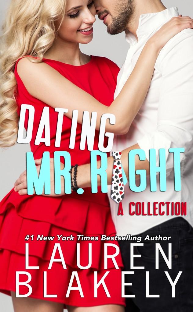 Red Dress, Hugging, Dating Mr. Right, Lauren Blakely