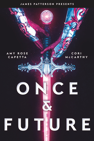 Once & Future, Pink, Blue, Red, Sword, Gloves, Sci-Fi, King Arthur