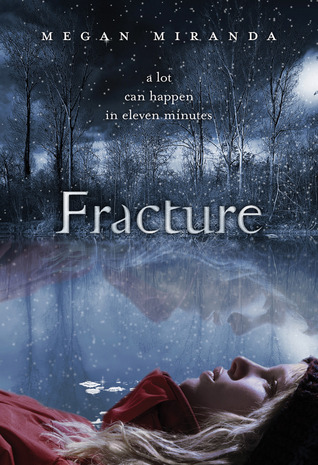 Fractured, Red Coat, Ice, Lake, Dark, Forest, Cover, Young Adult
