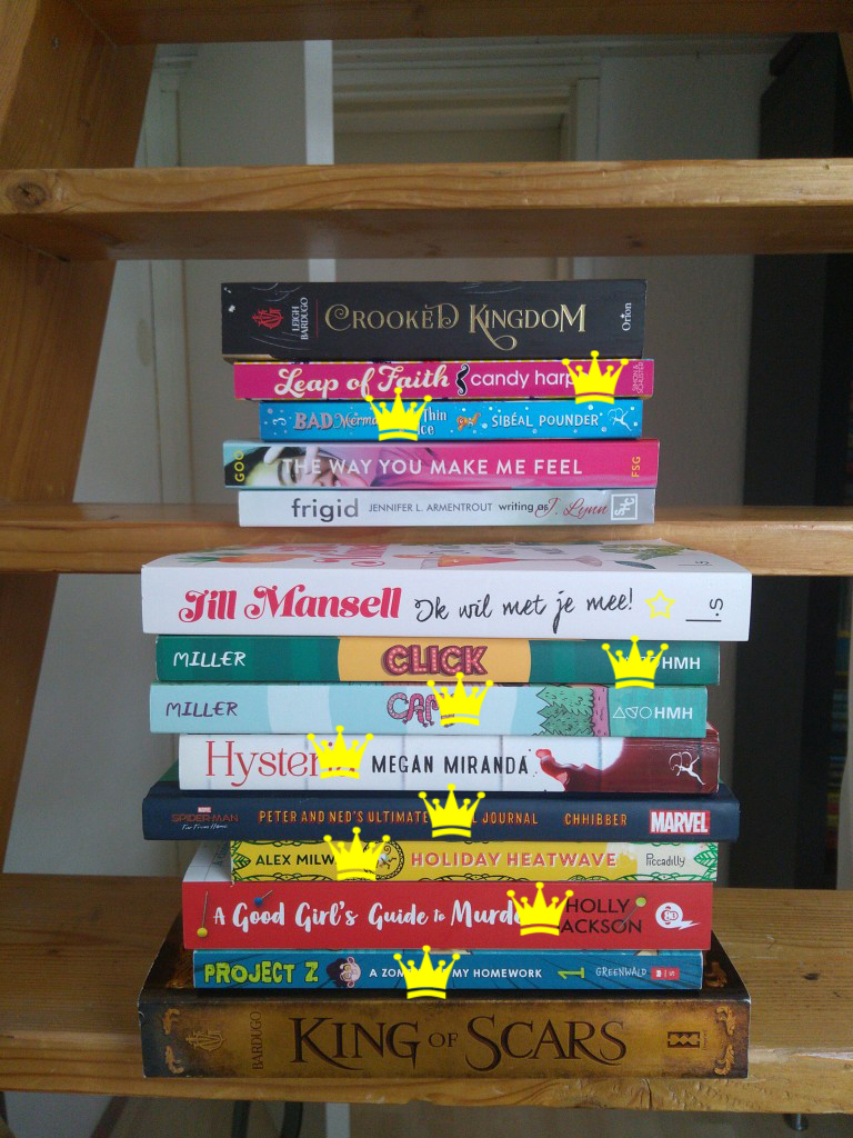 Vacation TBR, Stack of Books, Stairs