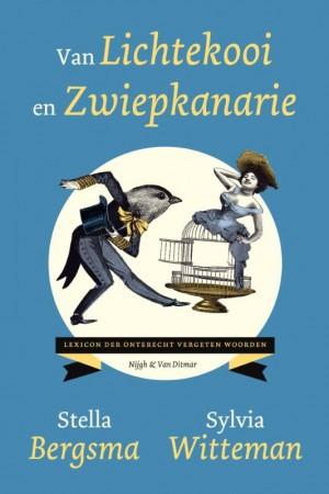 Stella Bergsma, Non-fiction, Van Lichtekooi tot Zwiepkanarie, Sylvia Witteman, Blue, Circle,