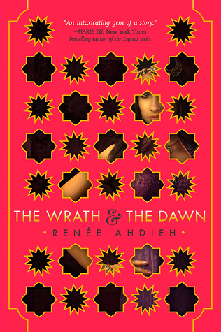 Wraith and the Dawn, Renée Ahdieh, Red, Geometric Shapes, Girl, Young Adult, Fantasy