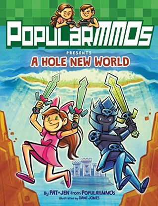 A Hole New World, PopularMMO, Falling out of the sky, Boy, Girl, Swords, Minecraft, Graphic Novel, Magic, Youtube