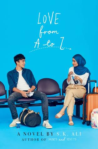 Love From A to Z, S.K. Ali, Blue, Bench, Baggage, Girl, Boy, Young Adult