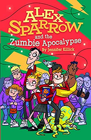 Zumbies, Alex Sparrow and the Zumbie Apocalypse, Jennifer Killick, Green, Red, Yellow, Squid