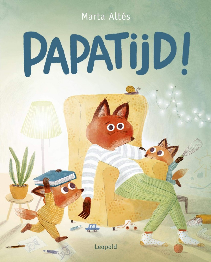 Papatijd, Foxes, Playing, Armchair, Chaos, Picture Book, Marta Altés