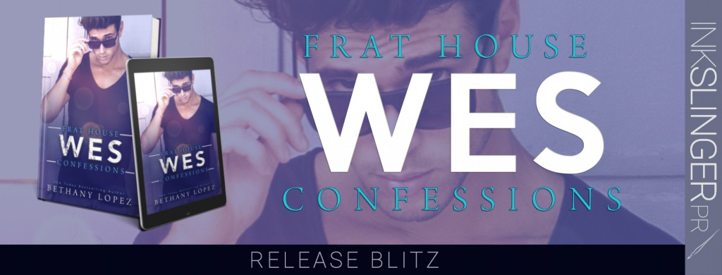 Frat House Confessions: WES, Bethany Lopez, Purple, Sunglasses, Black Shirt