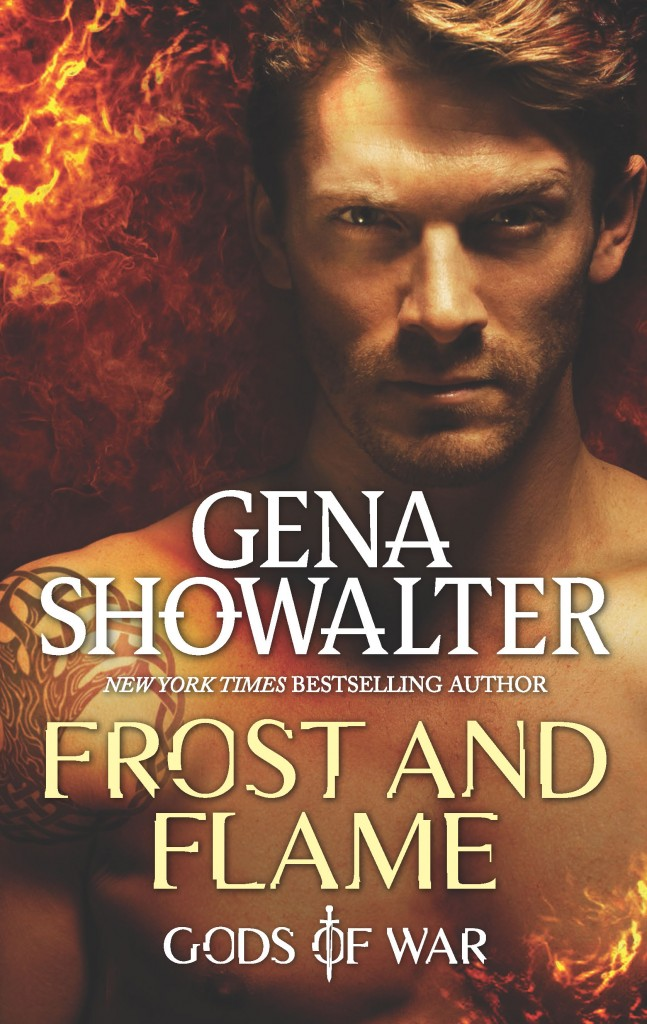 Gods of War, Frost and Flame, Torso, Red, Cover, Gena Showalter
