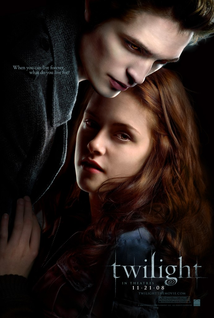 Twilight, Edward, Bella, Vampires, Movie Poster, Dark