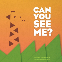 Can You See Me?, Orange, Picture Book, Children's Books, Green, Triangles, Mikhala Lantz-Simmons
