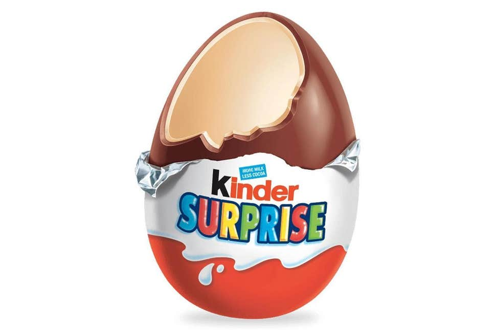 Kinder Surprise Egg, Chocolate, Yum