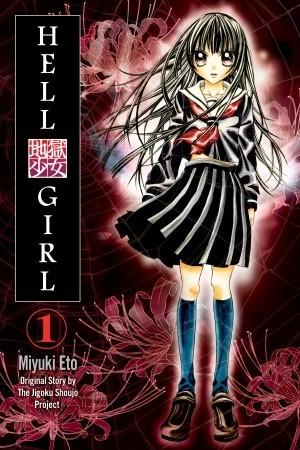 Hell Girl, Shigoku Shoujo, Miyuki Etou, Girl, School Uniform, Manga, Horror