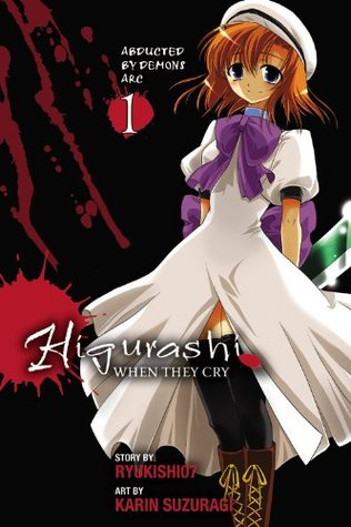 Higurashi When They Cry, Ryukishi07, Karin Suzuragi, Manga, horror, Higurashi When They Cry: Abducted by Demons Arc, Vol. 1