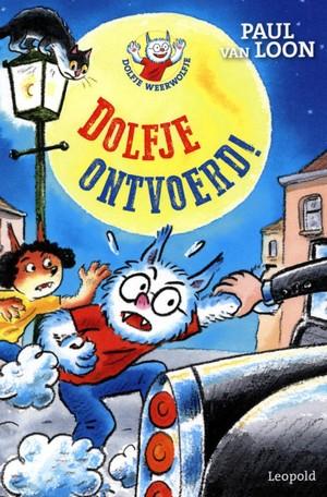 Dolfje Ontvoerd, Dolfje Weerwolfje, Werewolves, Car, Moon, Children's Book, Paul van Loon, Hugo van Look