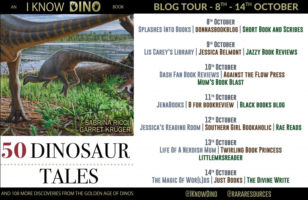 Dinosaurs, Nature, Lake, 50 Dinosaur Tales: And 108 More Discoveries From the Golden Age of Dinos, Sabrina Ricci, Children's books
