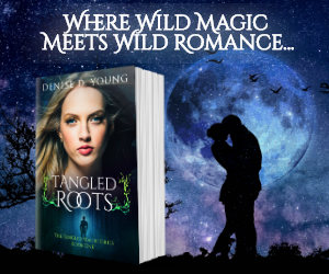 Paranormal, Tangled Roots, Black, Girl, Blue Eyes, Denis D. Young, Kiss, Moon