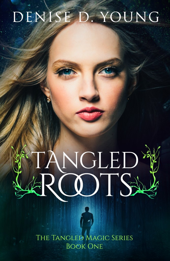 Paranormal, Tangled Roots, Black, Girl, Blue Eyes, Denis D. Young
