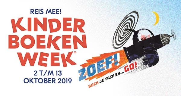 Kinderboekenweek 2019, Children's Book Week, Banner, Plane, Helicopter