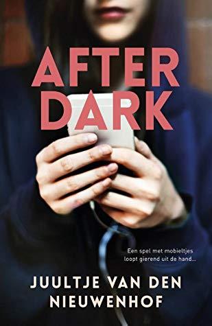 After Dark, Juultje van den Nieuwenhof, Mug, Hands, Face, Hoodie, Pink/Red Letters