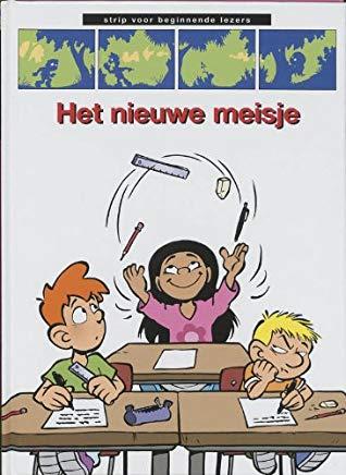 Juggling, Desks, School, Comics, Children's Books, Joep, Het nieuwe meisje, Michiel van de Vijver, Boys, Girl,