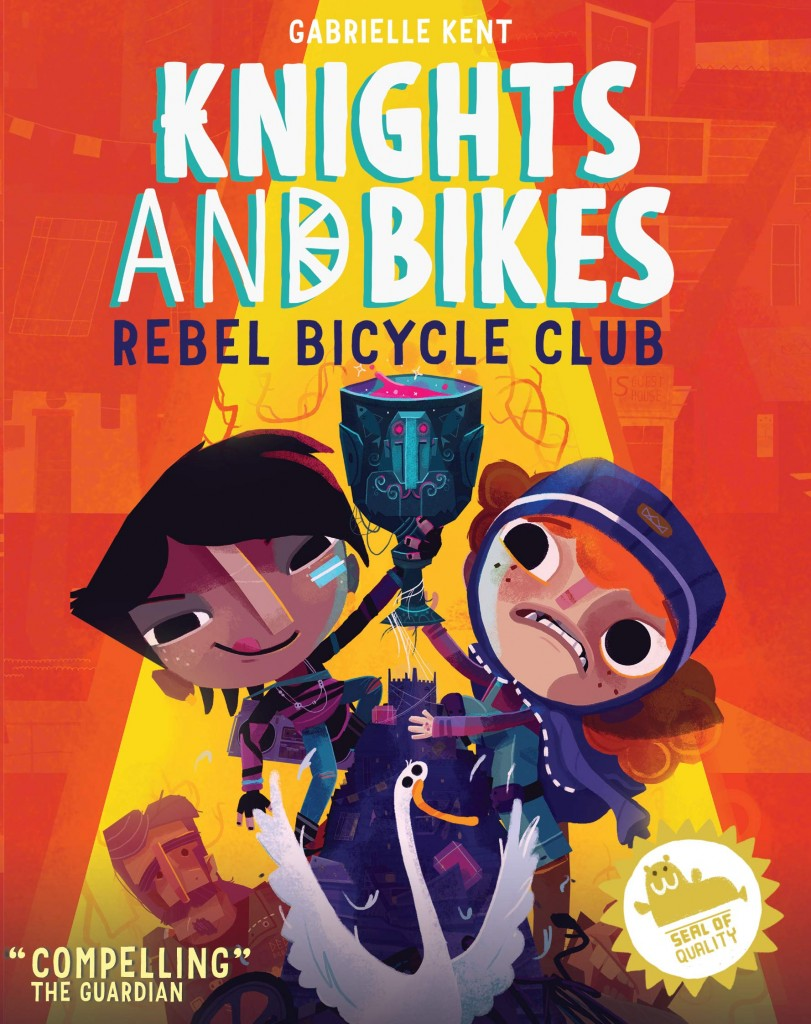 Goose, Rex Crowle, Girls, Spotlight, Red, Yellow, Man, Seal, Seal of Approval, Gabrielle Kent, Rebel Bicycle Club (Knights and Bikes, #2), Knights and Bikes,