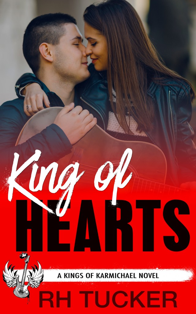 King of Hearts, Red, Hugging, Boy, Girl, Sweet, R.H. Tucker