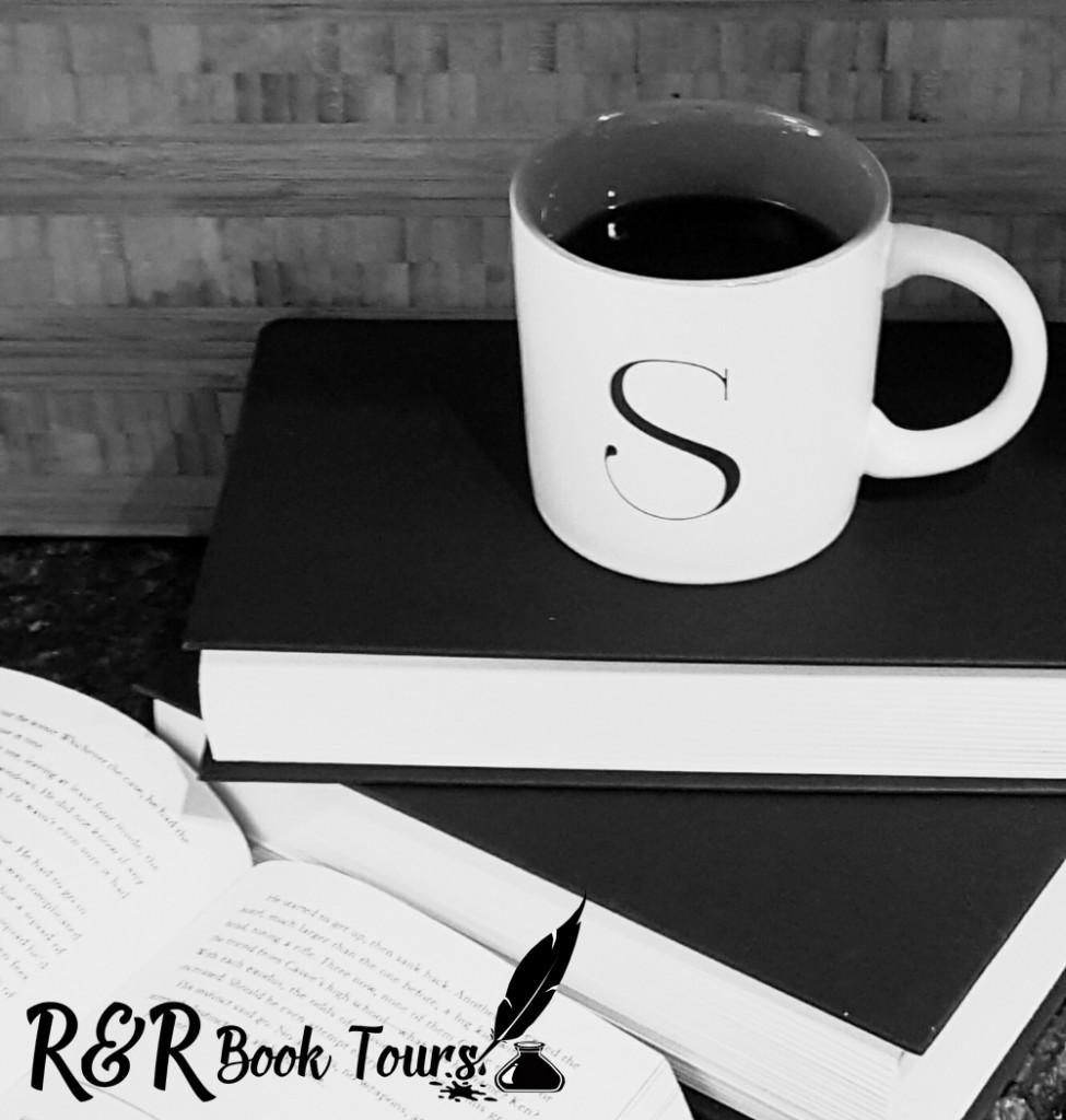 Books, Coffee, Mug, R&R Book Tours, Button