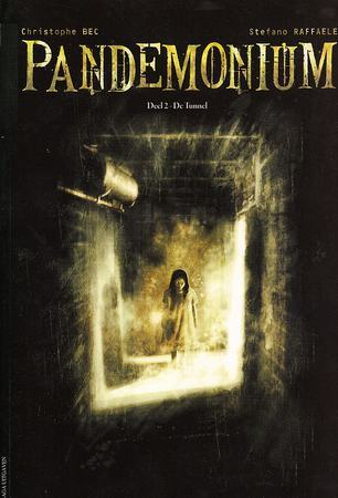 De tunnel, Pandemonium, Tunnel, Ghost, Girl, Floating, Chriophe Bec, Stefano Raffaele, Ghosts, Horror, Sanatorium, Graphic Novel