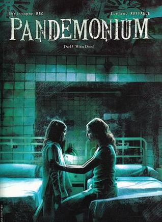 Pandemonium 3, Witte Dood, Christophe Bec, Stefano Raffaele, Girl, Woman, Beds, Hospital, Sanatorium, BLue, Green, Light, Graphic Novel, Horror