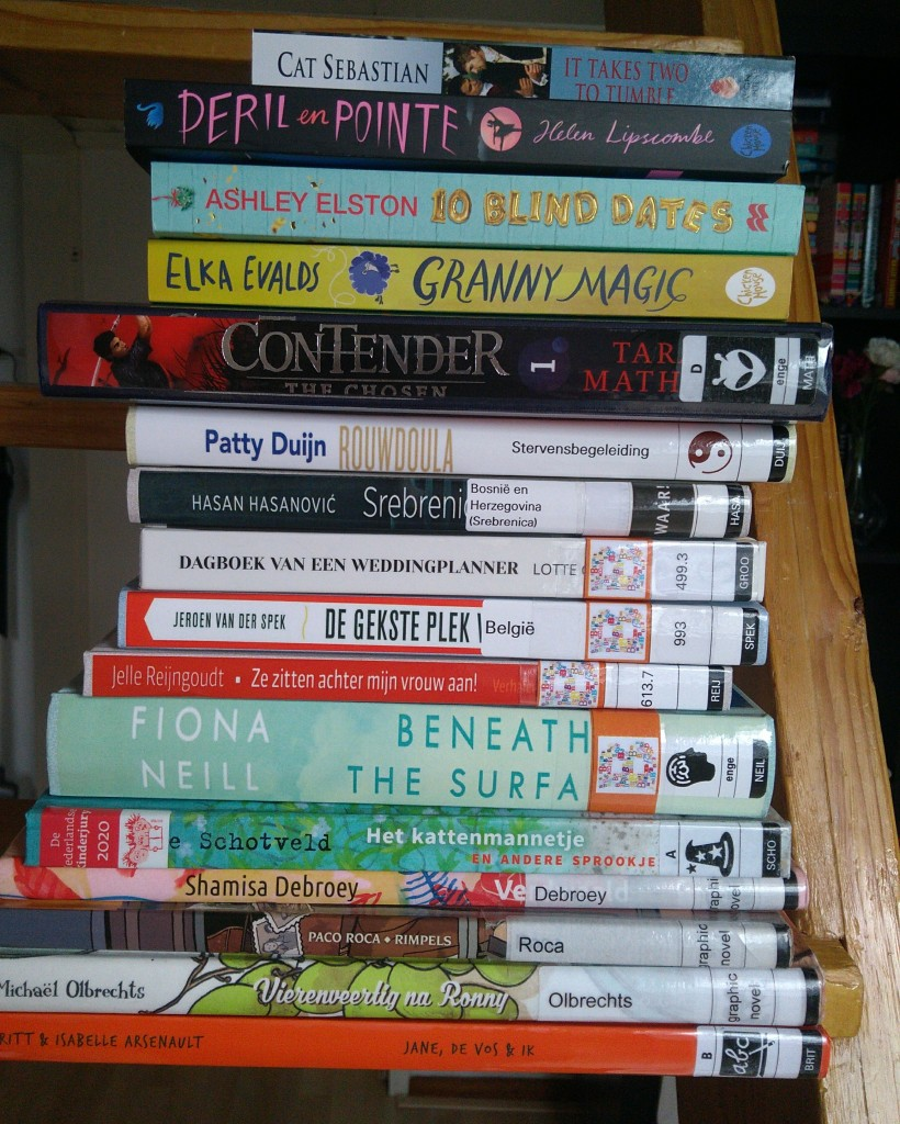 TBR, Stack, Books