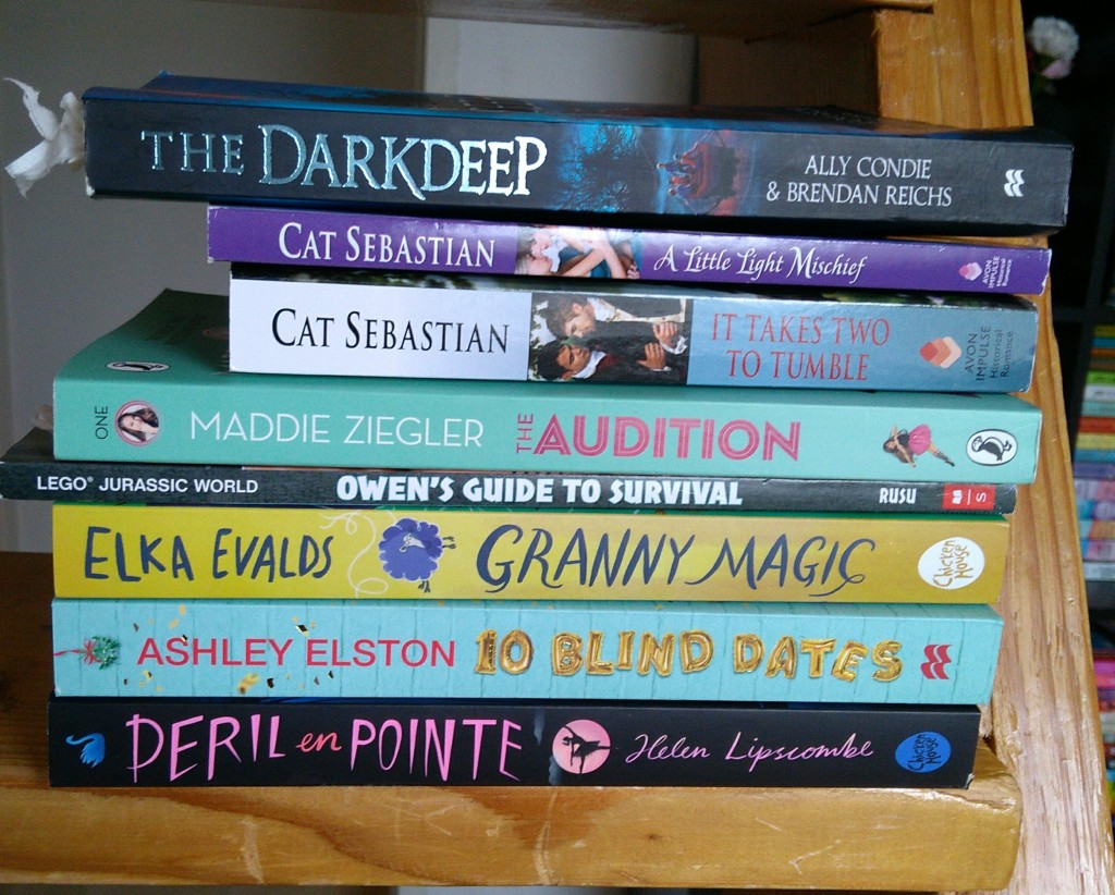 Books, Stack, LGBT, Children's Books, Granny Magic, Audition, Darkdeep, Peril in Pointe, AND MORE