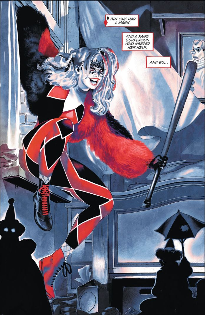 Harley Quinn, Young Adult, Graphic Novel, Joker, Clowns, Window, Curtain, Art