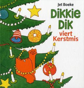 Dikkie Dik viert kerstmis, Christmas Tree, Cat, Decoration, Jet Boeke