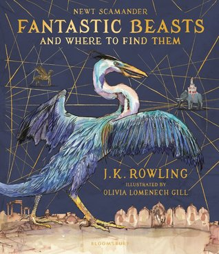 Olivia Lomenech Gill, Magic, Fantastic Beasts and Where to Find Them, Magical Beings, Blue, Gold, Harry Potter, J.K. Rowling,