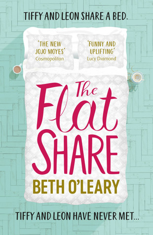 The Flatshare, Beth O'Leary, Green, Bed, Cups, Pillows, Romance
