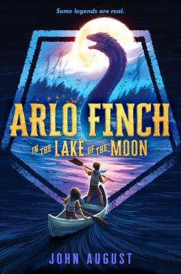 Arlo Finch in the Lake of the Moon, Arlo Finch, Monster, Moon, Forest, Lake, Canoe, Paddles, Night, Boy, Girl, Crest, Children's Books, Fantasy, Monsters, Adventure, Scouts