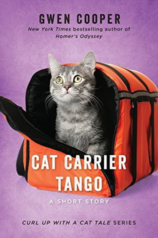 Curl Up with a Cat Tale #4, Gwen Cooper , Cat Carrier Tango: A Short Story, Purple, Cat, Carrier Bag, Gray Cat, Short Story, Humour,