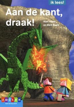 Aan de kant draak, Dragon, Draak, Boy, Girl, Fire, Cave, Sky, Game-lezen, Rian Visser, Mark Baars, Children's Books