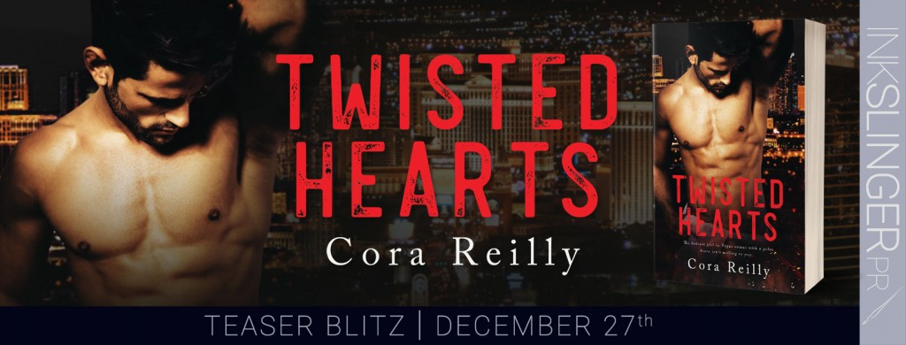 Man, Torso, Red Letters, Twisted Hearts, Cora Reilly, Banner