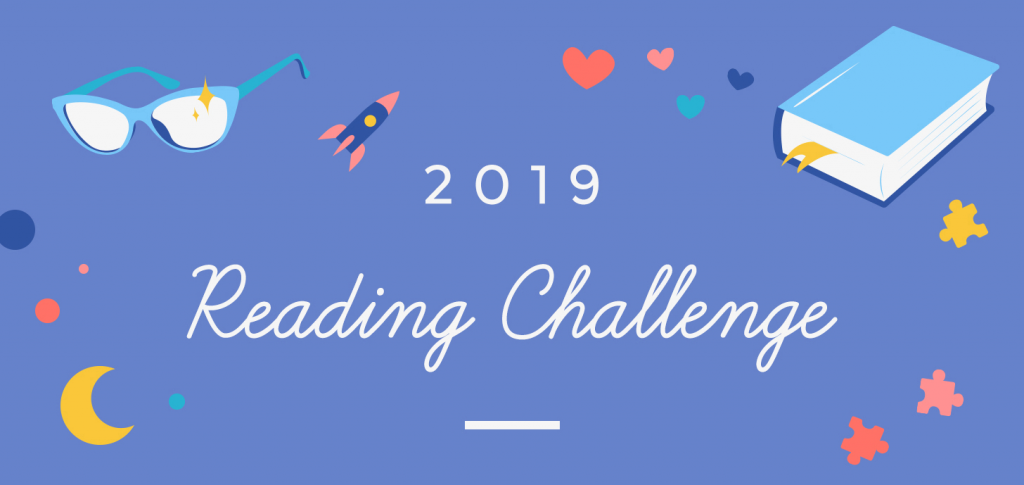 Pop Sugar Challenge 2019, Challenge, Books, Reading