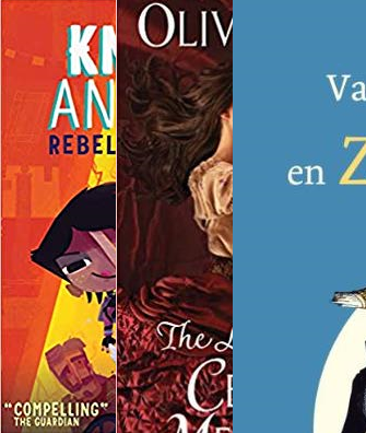 Top 10 Books November, Lichtekooi en Zwiepkanarie, The Lady's Guide to Celestial Mechanics, Knights and Bikes: Rebel Bicycle Club