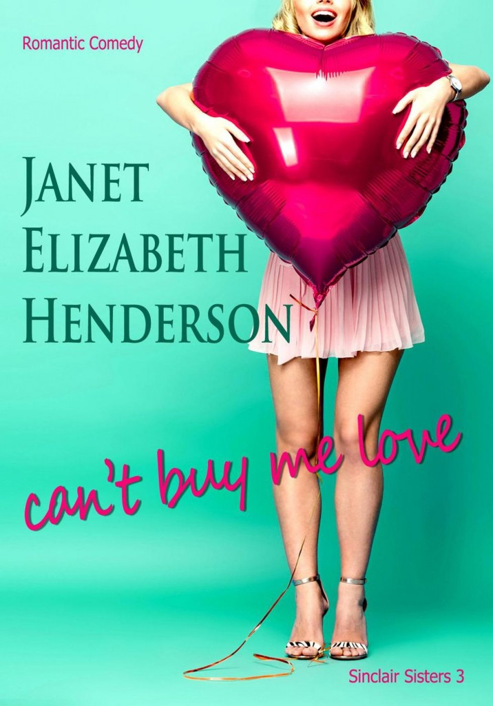 Can't Buy Me Love, Green, Heart, Girl, Banner, Romance, Janet Elizabeth Henderson